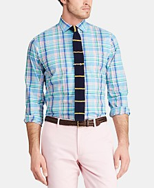 Polo Ralph Lauren Men's Classic-Fit Stretch Poplin Shirt, Regular and Big & Tall