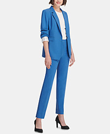 DKNY One-Button Blazer, Shell & Skinny Pants, Created for Macy's