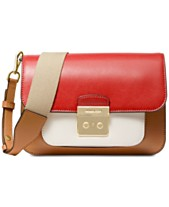 3f30f5b7896d MICHAEL Michael Kors Sloan Editor Colorblock Leather Shoulder Bag