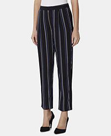 Tahari ASL Variegated-Stripe Pants