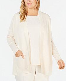 Anne Klein Plus Size Malibu Cardigan Sweater