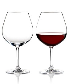 Wine Glasses, Set of 2 Vinum Pinot Noir