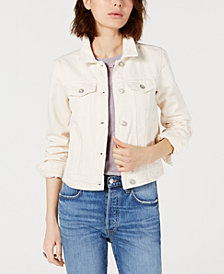 Free People Rumors Cotton Denim Jacket