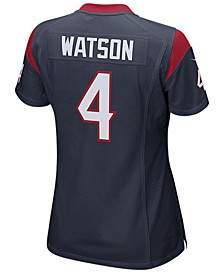Women's DeShaun Watson Houston Texans Game Jersey