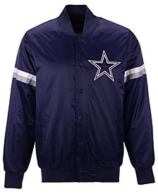 G-III Sports Men's Dallas Cowboys Draft Pick Starter Satin Jacket
