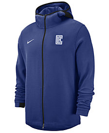 Nike Men's Los Angeles Clippers Dry Showtime Full-Zip Hoodie