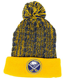 Authentic NHL Headwear Women's Buffalo Sabres Iconic Ace Knit Hat
