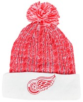 new style d5f3a e6e53 Authentic NHL Headwear Women s Detroit Red Wings Iconic Ace Knit Hat