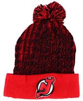 sale retailer 593a3 f6dea Authentic NHL Headwear Women s New Jersey Devils Iconic Ace Knit Hat