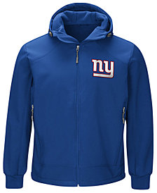 G-III Sports Men's New York Giants First Down Soft Shell Jacket