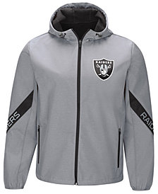 G-III Sports Men's Oakland Raiders Crossover Soft Shell Jacket