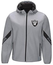 G-III Sports Men's Oakland Raiders Crossover Soft Shell Jacket