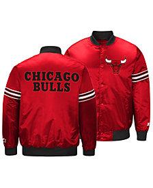 G-III Sports Men's Chicago Bulls Draft Pick Starter Satin Jacket