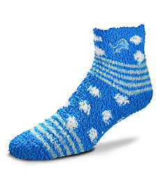For Bare Feet Detroit Lions Homegater Sleep Soft Socks