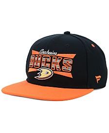 Authentic NHL Headwear Anaheim Ducks Combo Emblem Snapback Cap