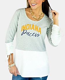 Gameday Couture Women's Indiana Pacers Embellished Tunic Top