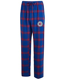 Men's Los Angeles Clippers Homestretch Flannel Sleep Pants