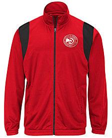G-III Sports Men's Atlanta Hawks Clutch Time Track Jacket