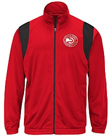 G-III Sports Men's Atlanta Hawks Clutch Time Track Jacket