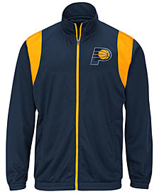 G-III Sports Men's Indiana Pacers Clutch Time Track Jacket