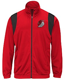 G-III Sports Men's Portland Trail Blazers Clutch Time Track Jacket