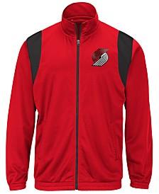 G-III Sports Men's Portland Trail Blazers Clutch Time Track Jacket