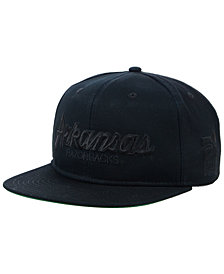 Nike Arkansas Razorbacks Sport Specialties Black on Black Snapback Cap