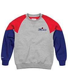 Mitchell & Ness Men's Washington Bullets Trading Block Crew Sweatshirt