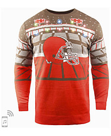 Forever Collectibles Men's Cleveland Browns Bluetooth Sweater