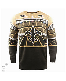 Forever Collectibles Men's New Orleans Saints Bluetooth Sweater