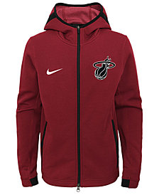 Nike Miami Heat Showtime Hooded Jacket, Big Boys (8-20)