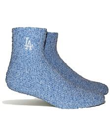 Los Angeles Dodgers Parkway Team Fuzzy Socks