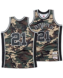 Mitchell & Ness Men's Tim Duncan San Antonio Spurs Woodland Camo Swingman Jersey