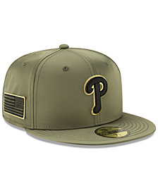 New Era Philadelphia Phillies Satin Salute 59FIFTY Fitted Cap