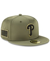 cbc9578224e New Era Philadelphia Phillies Satin Salute 59FIFTY Fitted Cap