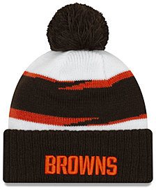 New Era Cleveland Browns Thanksgiving Pom Knit Hat