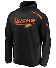 Majestic Men's Anaheim Ducks Rinkside Transitional Hoodie