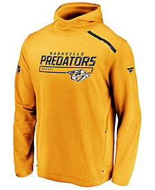 Majestic Men's Nashville Predators Rinkside Transitional Hoodie