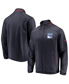 Majestic Men's New York Rangers Rinkside Authentic Pro Jacket