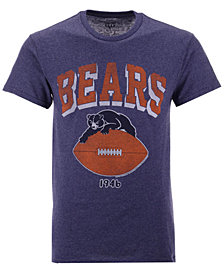 Authentic NFL Apparel Men's Chicago Bears Shadow Arch Retro T-Shirt