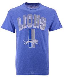 Authentic NFL Apparel Men's Detroit Lions Shadow Arch Retro T-Shirt