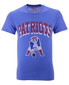 Authentic NFL Apparel Men's New England Patriots Shadow Arch Retro T-Shirt