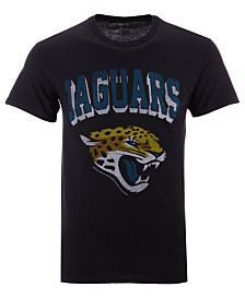 Authentic NFL Apparel Men's Jacksonville Jaguars NFL Shadow Arch Retro T-shirt