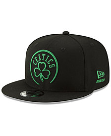 New Era Boston Celtics Logo Trace 9FIFTY Snapback Cap