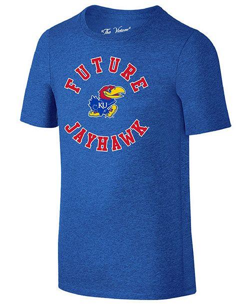 Retro Brand Kansas Jayhawks Future Fan Dual Blend T-Shirt, Toddler Boys (2T-4T)