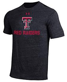 Men's Texas Tech Red Raiders Heat Gear Tri-Blend T-Shirt