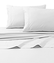 300 Thread Count Cotton Percale Extra Deep Pocket Twin XL Sheet Set