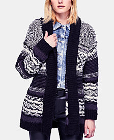 Free People Cozy Cabin Cardigan Sweater