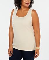 937740ca1fb18 Plus Size Dressy Tops  Shop Plus Size Dressy Tops - Macy s