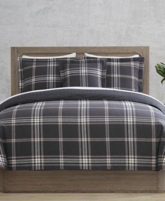 CLOSEOUT! Danbury Gaines 4-Pc. Full/Queen 100% Cotton Comforter Set